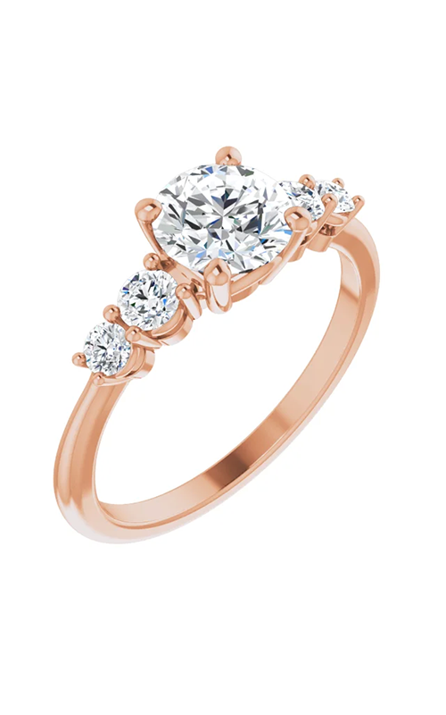 DC Accented Engagement ring 124704 product image