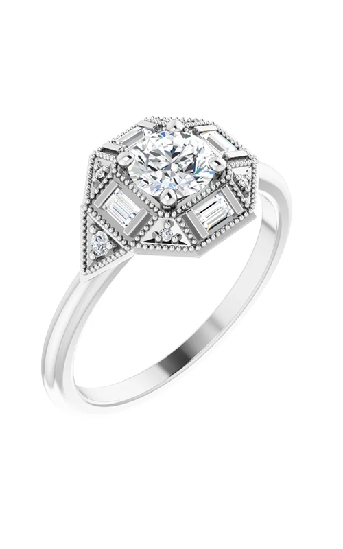 DC Accented Engagement ring 124673 product image