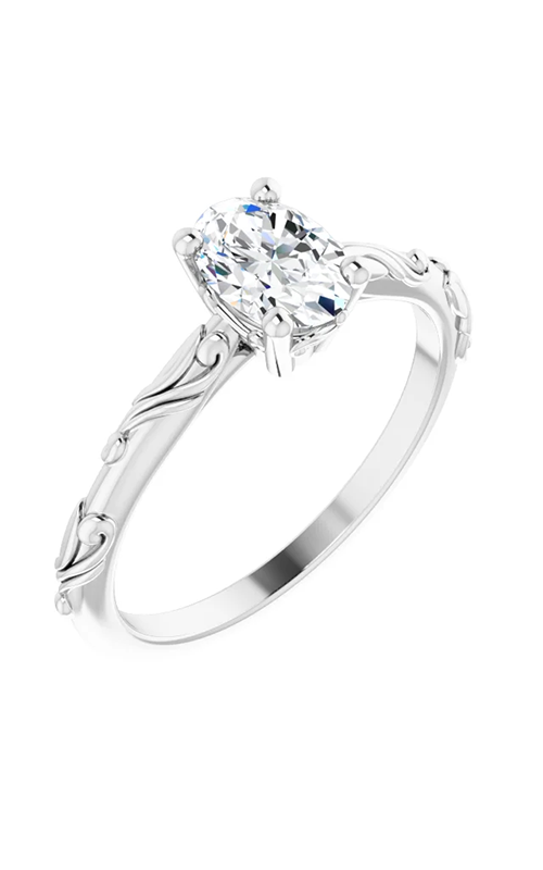 DC Solitaire Engagement ring 124644 product image