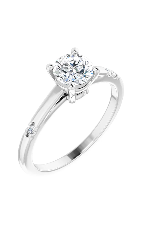 DC Accented Engagement ring 124649 product image
