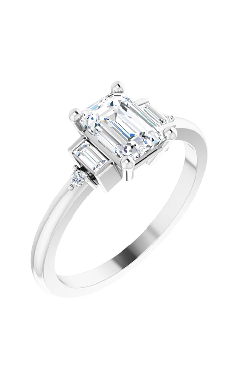 DC Accented Engagement ring 124622 product image
