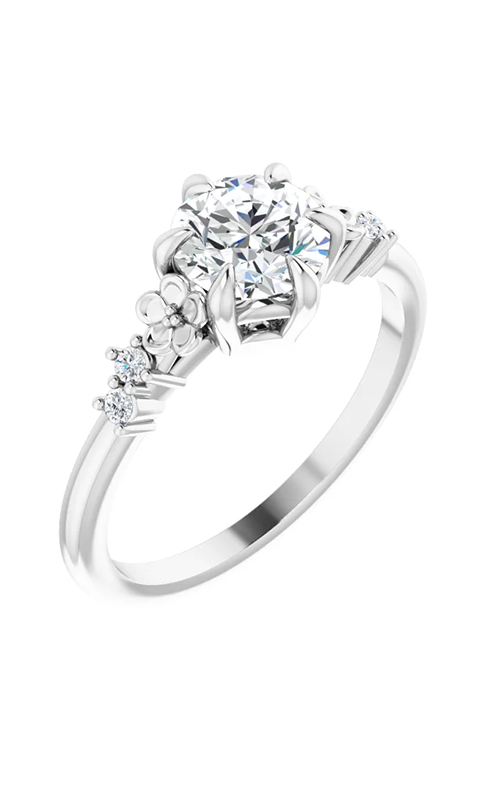 DC Floral Engagement ring 124557 product image