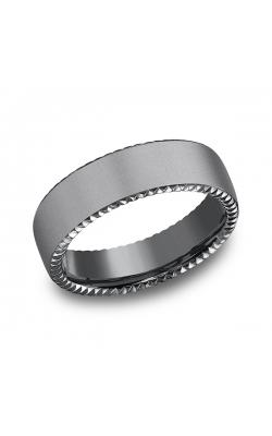 Tantalum Comfort-fit Design Wedding Band CF716525TA10 product image