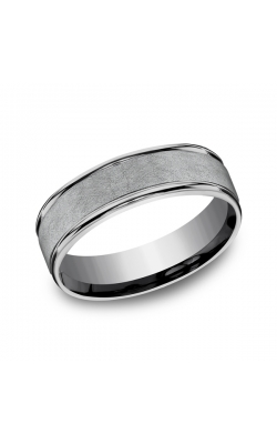 Grey Tantalum Comfort-fit wedding band RECF86585GTA08.5 product image