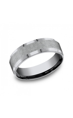 Grey Tantalum Comfort-fit Wedding Band CF67417GTA06 product image