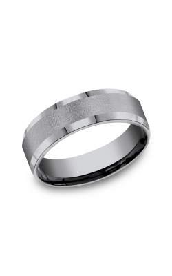 Grey Tantalum Comfort-fit wedding band CF67418GTA06 product image