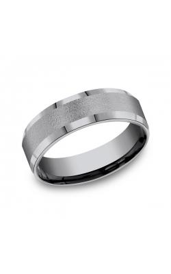 Grey Tantalum Comfort-fit wedding band CF67418GTA10.5 product image