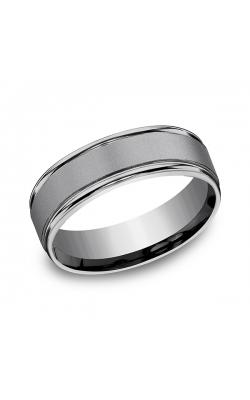 Grey Tantalum Comfort-Fit wedding band RECF7702SGTA09 product image