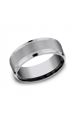 Grey Tantalum Comfort-Fit Wedding Band CF128034GTA10 product image