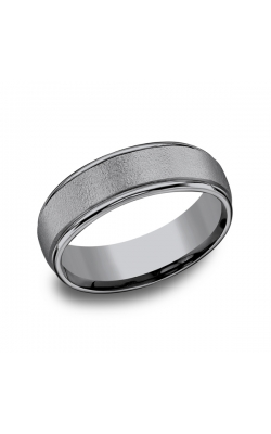 Grey Tantalum Comfort-fit Wedding Band RECF7602GTA10 product image