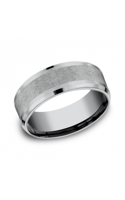Grey Tantalum Comfort-fit Wedding Band CF128070GTA10 product image