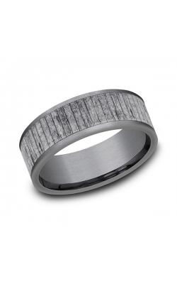 Grey Tantalum Comfort-fit wedding band CF848630GTA12 product image