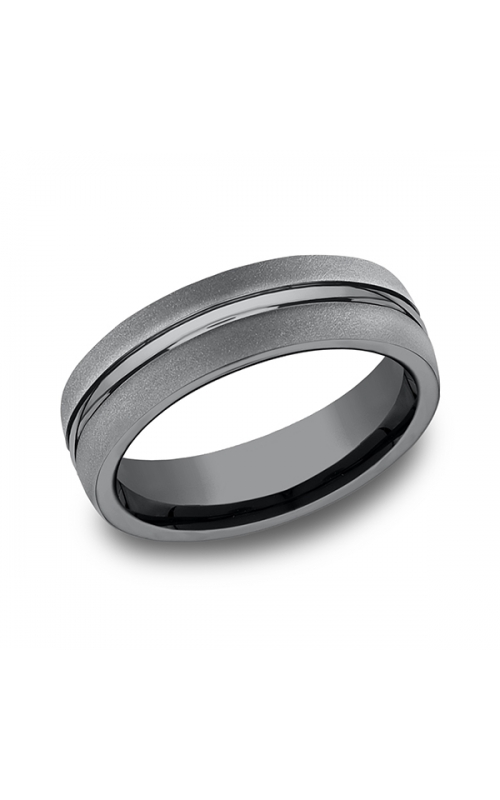 Tantalum Comfort-fit Design Wedding Band EUCF565411TA10 product image
