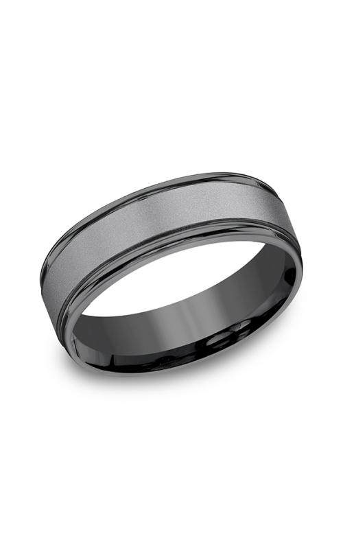 Tantalum Comfort-fit Design Wedding Band RECF7702STA10 product image