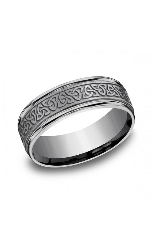 Tantalum Comfort-fit Design Wedding Band RECF847357GTA07 product image