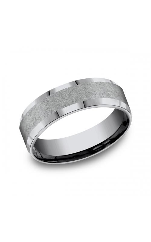 Grey Tantalum Comfort-fit wedding band CF67417GTA10 product image