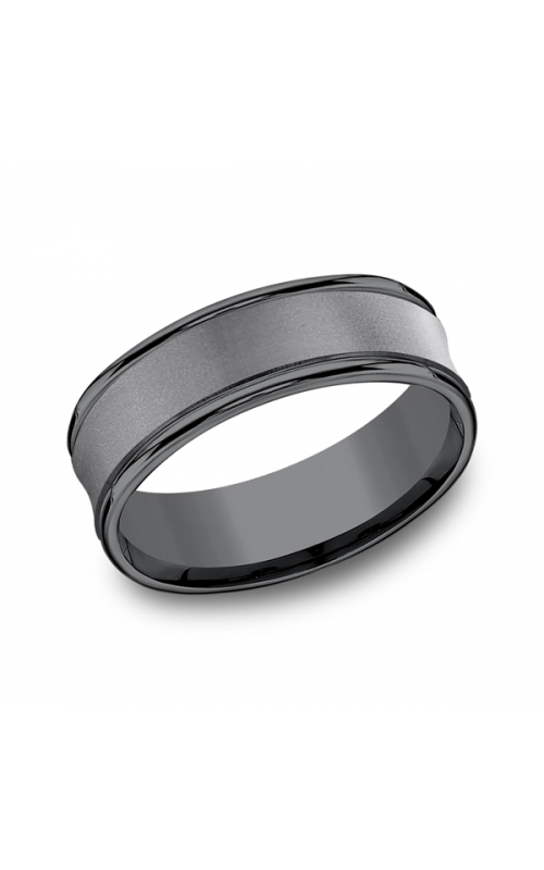 Tantalum Comfort-Fit wedding band RECF87500TA06 product image