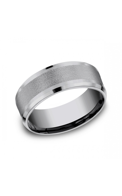 Grey Tantalum Comfort-Fit wedding band CF128034GTA06 product image