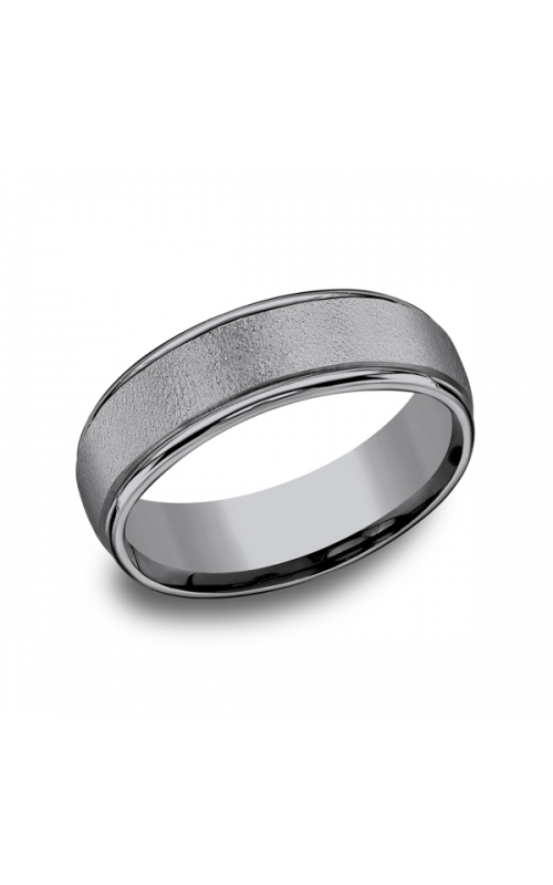 Grey Tantalum Comfort-fit wedding band RECF7602GTA06 product image