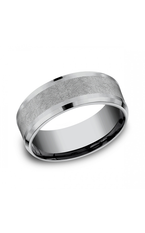 Grey Tantalum Comfort-fit wedding band CF128070GTA06 product image