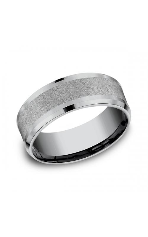 Grey Tantalum Comfort-fit wedding band CF128070GTA10 product image