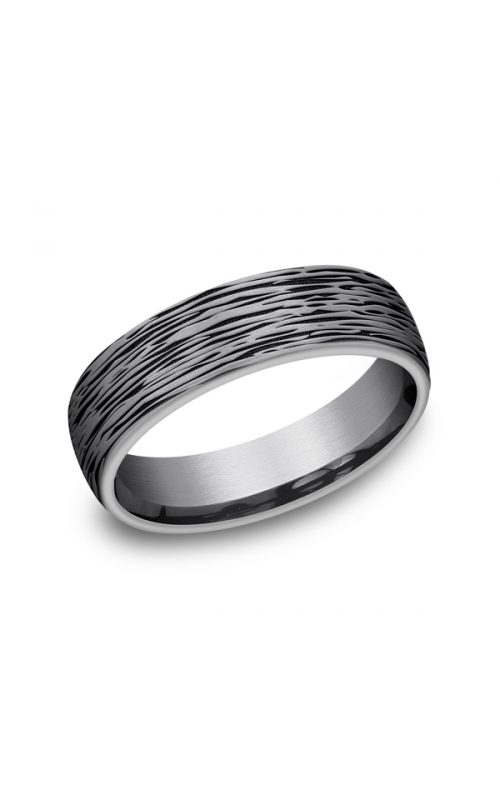 Grey Tantalum Comfort-fit wedding band CFBP8465399GTA06 product image