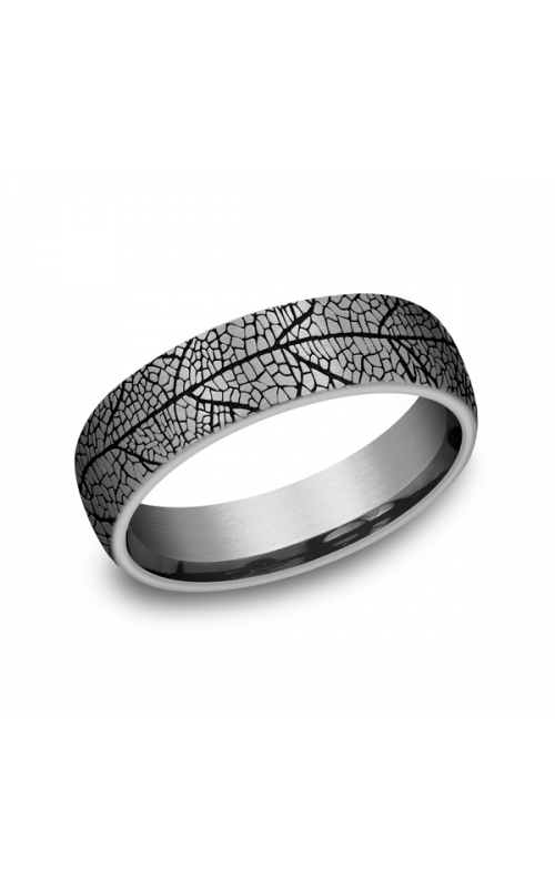 Grey Tantalum Comfort-fit wedding band CFBP8465613GTA06 product image