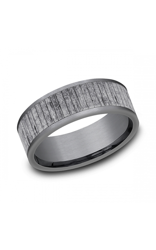 Grey Tantalum Comfort-fit wedding band CF848630GTA10 product image