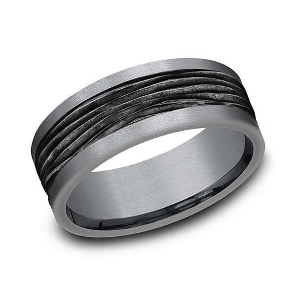 Tantalum Men's Wedding Bands CF128743BKTGTA06 product image