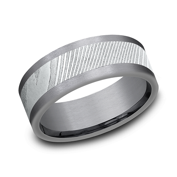 Tantalum Men's Wedding Bands CF128814DSGTA07 product image