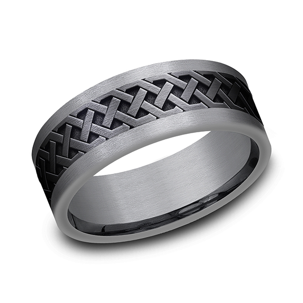 Tantalum Men's Wedding Bands CF128361BKTGTA07 product image