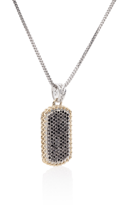THORN DOG TAG WITH BLACK DIAMONDS product image