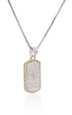 THORN DOG TAG WITH WHITE DIAMONDS product image