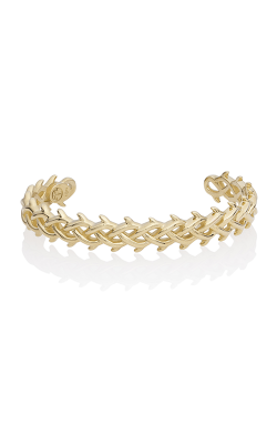 THORN CROWN CUFF - YELLOW GOLD product image