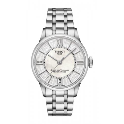 Tissot Chemin Des Toureless Powermatic 80 Lady Watch T0992071111800 product image