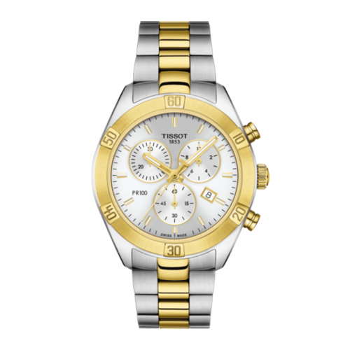 Tissot PR 100 Sport Chic Chronograph Watch T1019172203100 product image