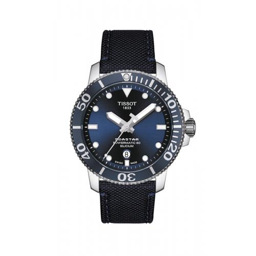 Tissot Seastar 1000 Powermatic 80 Watch T1204071704101 product image