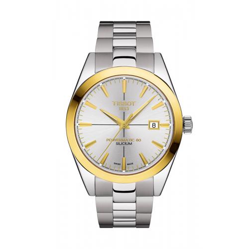 Tissot Gentleman Powermatic 80 Silicium Watch T9274074103101 product image