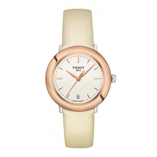 Tissot Glendora 18K Gold Watch T9292104626100 product image