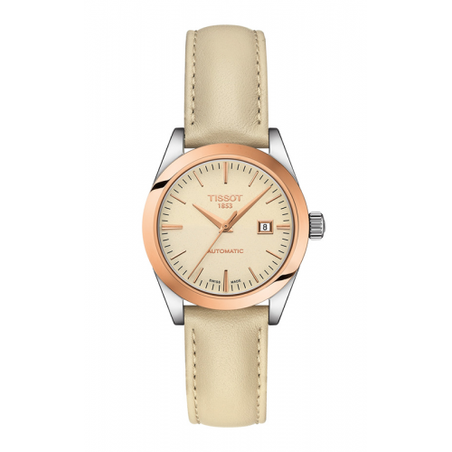 Tissot T-My Lady Automatic 18K Gold Watch T9300074626100 product image
