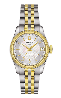 Tissot T-Classic Ballade Powermatic 80 Cosc Lady Watch T1082082211700 product image
