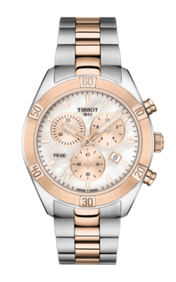 Tissot PR 100 Sport Chic Chronograph Watch T1019172215100 product image