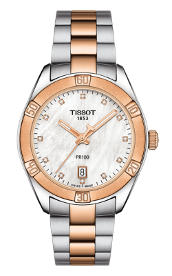 Tissot PR 100 Sport Chic Watch T1019102211600 product image