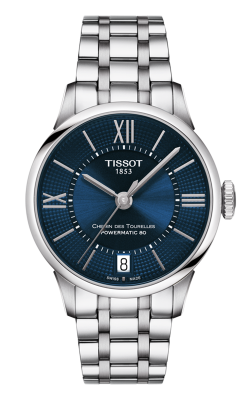 Tissot Chemin Des Toureless Powermatic 80 Lady Watch T0992071104800 product image