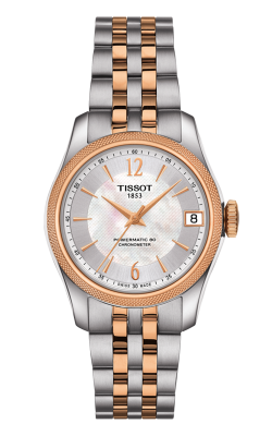 Tissot T-Classic Ballade Powermatic 80 Cosc Lady Watch T1082082211701 product image