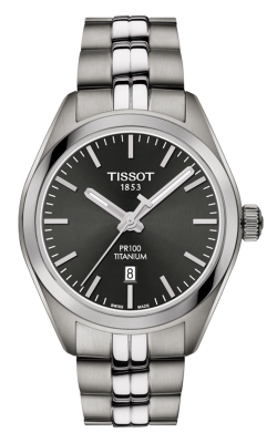 Tissot PR 100 Titanium Quartz Lady Watch T1012104406100 product image