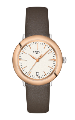 Tissot T-Gold Glendora 18K Gold Watch T9292104626600 product image