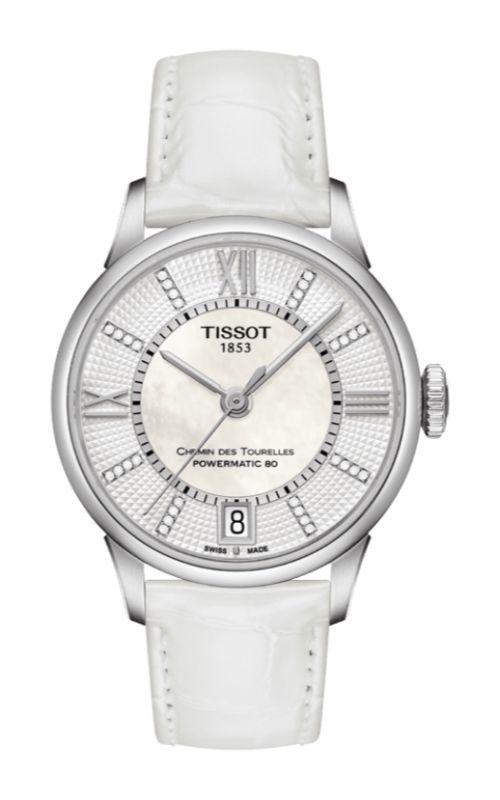 Tissot Chemin Des Toureless Powermatic 80 Lady Watch T0992071611600 product image
