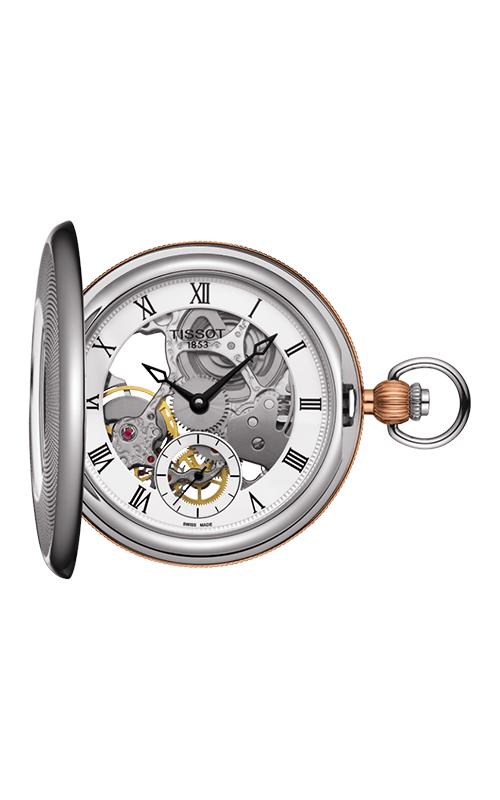 Tissot Pocket Mechanical Skeleton Watch T8594052927300 product image
