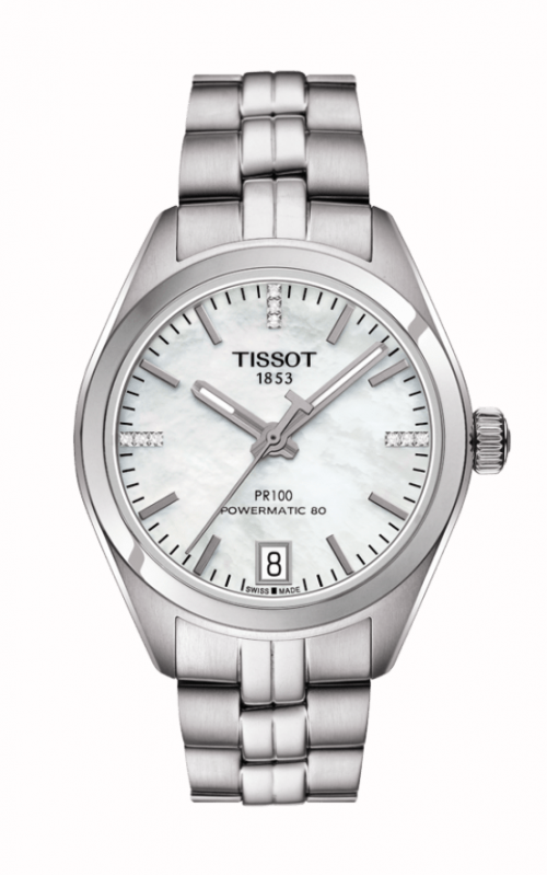 Tissot PR 100 Powermatic 80 Lady Watch T1012071111600 product image